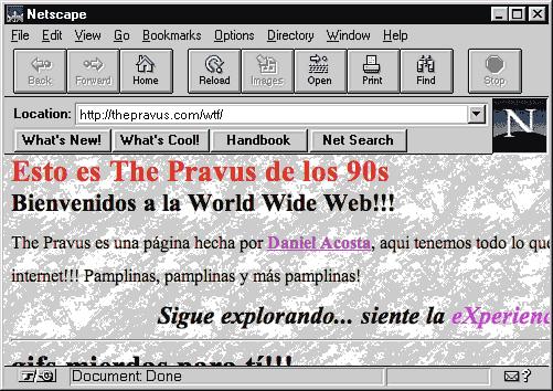 Pravus en Netscape